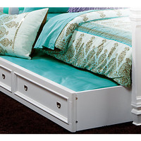 Belmar White Trundle Storage Drawer