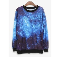 A 081901 Star Harajuku fashion casual sweater-121