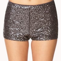 Dazzle 'Em High-Waisted Shorts