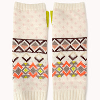 Fair Isle Fingerless Gloves | FOREVER 21 - 2002246153