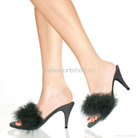 Sexy Fur Jelly Heel High Heel Slipper For Women Sexy Bedroom Slippers Jelly Slippers - Buy Jelly Slippers,Sexy Bedroom Slippers,High Heel Slipper For Women Product on Alibaba.com