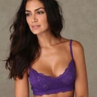 Lacey Seamed Soft Bra at Free People Clothing Boutique