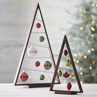 A Frame Ornament Trees in Christmas Decorating | Crate&Barrel