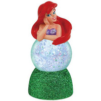 Little Mermaid Ariel Sparkler Globe - Westland Giftware - Little Mermaid - Snow Globes at Entertainment Earth