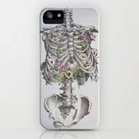 Floral Anatomy iPhone & iPod Case by Trisha Thompson Adams