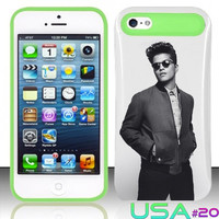 USA Design #20 - IPhone 5 5S Glow in Dark Case # Bruno Mars @ Cover for IPhone 5 5S