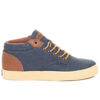 DJPremium.com -  Johnson Mid Linen Sneakers