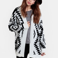 Lost Empire Aztec Cardigan