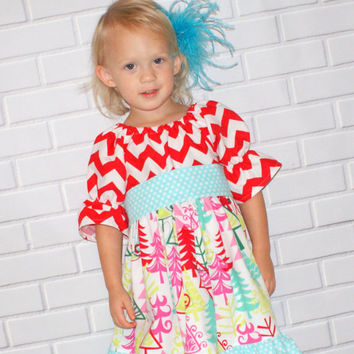 Toddler Christmas Dresses Boutique 96