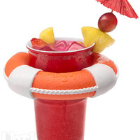 Drink Preserver: Floating Cup Holder for the Pool
