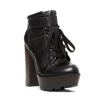 Steve Madden - DELUXE BLACK LEATHER