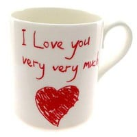 Love You Very Very Much Mug
