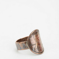 Autopilot Empires X Urban Renewal Penny Ring - Urban Outfitters