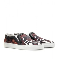 Toma Satin And Leather Slip-On Sneakers ¦ Givenchy ∫ mytheresa