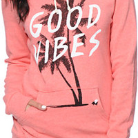 Glamour Kills Holiday Forever Coral Pullover Hoodie at Zumiez : PDP