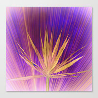 violet dream Stretched Canvas by Marianna Tankelevich