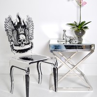 Let's Rock Chair - Skull | Sweetpea and Willow