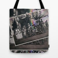 Ms. Nebun's Academic Spook Class Photo Tote Bag by Ben Geiger