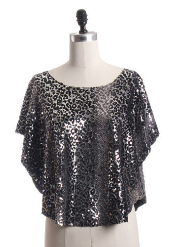Trendy and Cute tops - Aryn K - Sequin Flutter Tunic - chloelovescharlie.com | $76.00