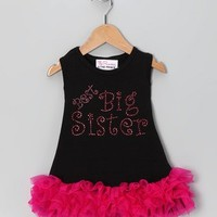 Prince and Princess Best Big Sister & Little Sister Rhinestone Ruffle Dress - Whimsical & Unique Gift Ideas for the Coolest Gift Givers