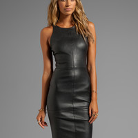 Elizabeth and James Delon Dress in Black