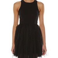 SURFSTITCH - WOMENS - DRESSES - AFTER DARK DRESSES - SASS JULIA TUTU DRESS - BLACK