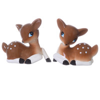 Retro Deer Salt & Pepper Shakers