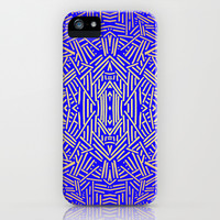 Radiate (Yellow/Ochre Royal) iPhone & iPod Case by Jacqueline Maldonado