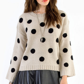 Penny For Your Dots Sweater $47