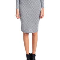 Geo Spec High Waist Skirt | 2020AVE