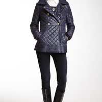 HauteLook | Via Spiga Outerwear: Double Breasted Quilted Coat