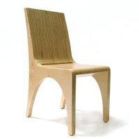 StyleFactory | Designer Furniture for Modern Homes - Stacked Ply Dining Chair