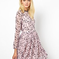 Antipodium Surveillance Dress in Candid Camera Print