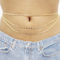 Triple Belly Chain | VidaKush