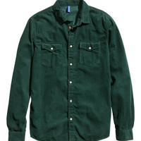 Corduroy Shirt - from H&M