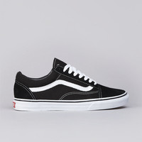 Flatspot - Vans Old Skool Black / White