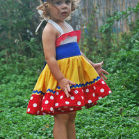 Snow White Costume READY TO SHIP 6/9mths