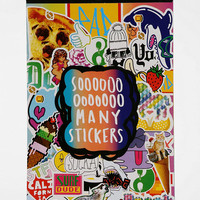 UO Sticker Book - Urban Outfitters