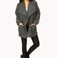 Refined Bouclé Coat