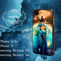 Ariel The Little Mermaid Under Sea Design for iPhone 4, iPhone 4S, iPhone 5, Samsung Galaxy S3, Samsung Galaxy S4 Case