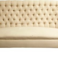 One Kings Lane - Albert Hadley - Victorian Tufted Upholstered Sofa