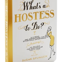 What's a Hostess to Do? | Mod Retro Vintage Books | ModCloth.com