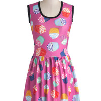 My Kinda Gallop Dress in Cupcakes | Mod Retro Vintage Dresses | ModCloth.com