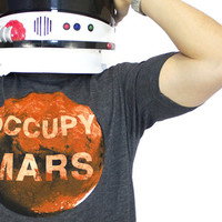 Occupy Mars Tee Shirt  Mens Small