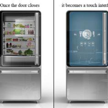 Smart Fridge by Ashley Legg  Yanko Design