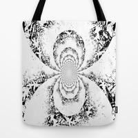 Black & White Tote Bag by Kelli Schneider