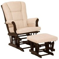 Stork Craft Tuscany Glider and Ottoman