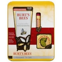 Burt's Bees Embossed Tin Gift Set