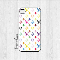 iPhone 5 case, iPhone 5S case - Louis Vuitton iPhone Case / Multicolor LV Case - G011