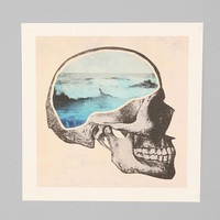 Chase Kuntz Brain Waves Art Print - Urban Outfitters
